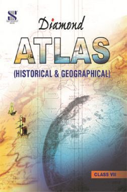 Diamond Geographical and Historical Atlas For Class VII