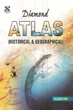 Diamond Geographical and Historical Atlas For Class  VIII