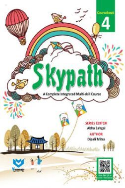 Skypath English Series Textbook For Class - 4