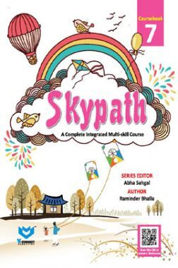 Skypath English Series Textbook For Class - 7