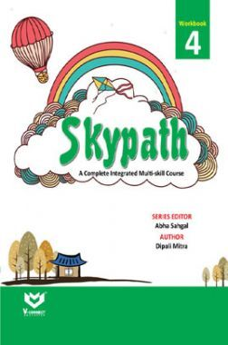 Skypath English Series Workbook For Class - 4