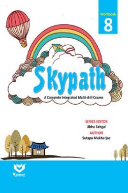 Skypath English Series Workbook For Class - 8