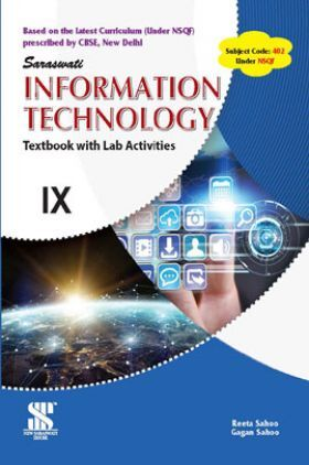 CBSE Information Technology Textbook With Lab Activities For Class - IX