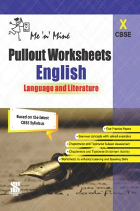 CBSE Pullout Worksheets English Language And Literature For Class - X