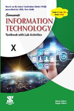 CBSE Information Technology Textbook With Lab Activities For Class - X