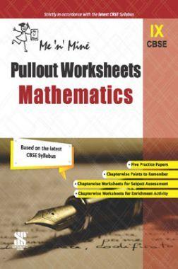 CBSE Pullout Worksheets Mathematics For Class - IX