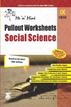 CBSE Pullout Worksheets Social Science For Class - IX