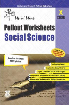CBSE Pullout Worksheets Social Science For Class - X