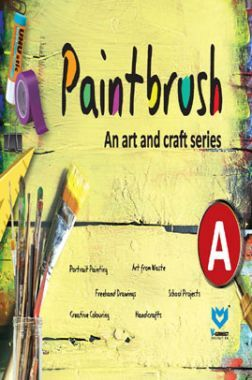 Paint Brush - An Art And Craft Series - A