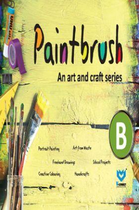 Paint Brush - An Art And Craft Series - B
