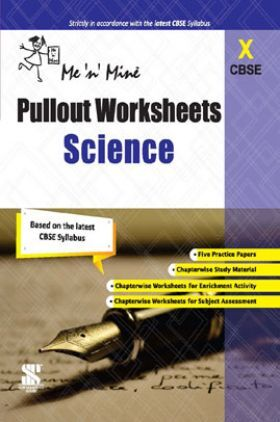 CBSE Pullout Worksheets Science For Class - X
