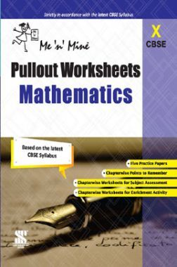 CBSE Pullout Worksheets Mathematics For Class - X