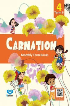 Carnation Monthly Term Book Class-4 Term-6