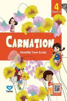 Carnation Monthly Term Book Class-4 Term-7