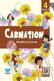 Carnation Monthly Term Book Class-4 Term-8
