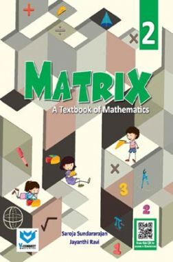 Matrix - A Textbook of Mathematics For Class - II