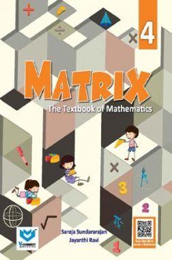 Matrix - A Textbook of Mathematics For Class - IV