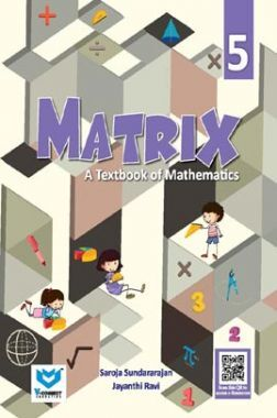 Matrix - A Textbook of Mathematics For Class - V