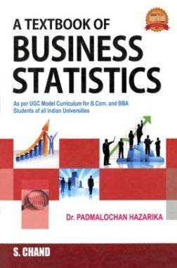 A Textbook Of Business Statistics