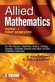 Allied Mathematics – I