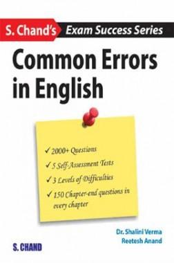 Common Errors In English