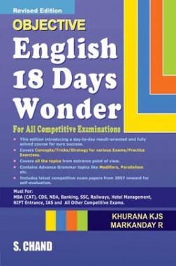English 18 Days Wonder