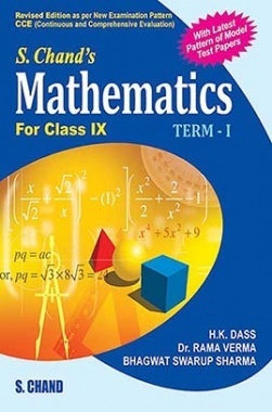 Download S Chand's Mathematics For Class IX Term-I by H K Dass, Rama Verma  & Bhagwat S Sharma PDF Online