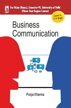 Download Business Communication (B Com Hons) by Pooja Khanna PDF Online