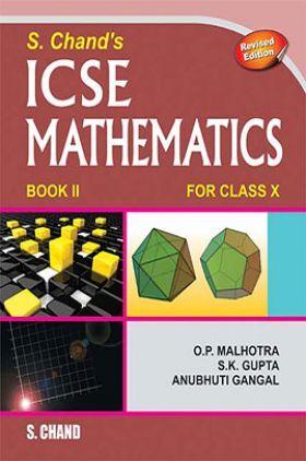 SChand's ICSE Mathematics Book II For Class-X