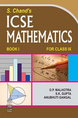 SChand's ICSE Mathematics Book I For Class-IX