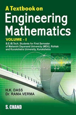 A Textbook On Engineering Mathematics I