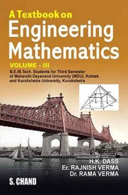 A Textbook On Engineering Mathematics Vol-III