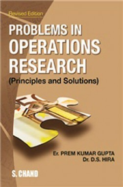 Problems In Operation Research (Principles And Solution)
