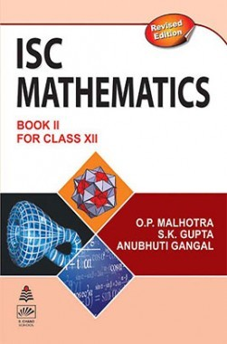 ISC Mathematics Book 2 For Class XII
