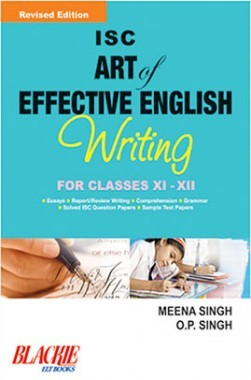 ISC Art Of Effective English Writing Class XI And XII