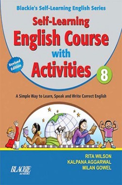 Self Learning English Course With Activities For Class 8