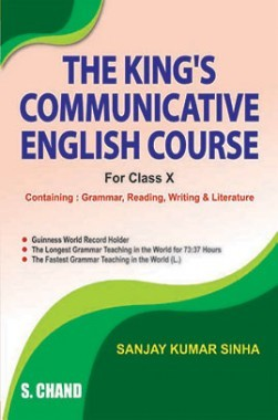 The King'S Communicative English Course Class X