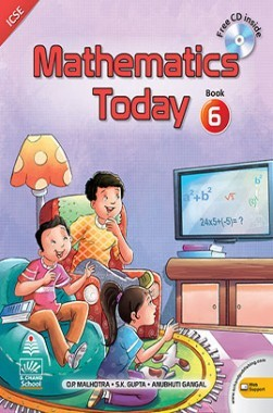 Mathematics Today For Class 6