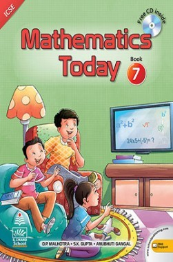 Mathematics Today For Class 7