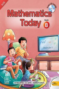 Mathematics Today For Class 8