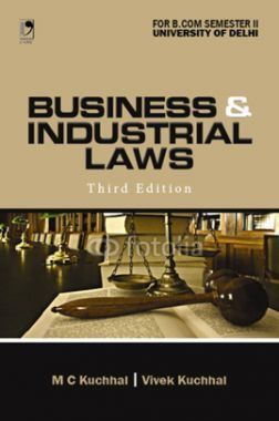 Business And Industrial Laws For B.Com Semester-2 (Delhi University)