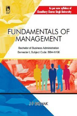 Fundamentals Of Management (CCS University)