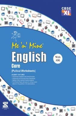Me N Mine English Core For Class-XI CBSE (Pullout Worksheets)