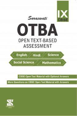 OTBA (Open Text Based Assessment) English, Hindi, Science, Social Science & Mathematics For Class-IX (CBSE)