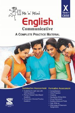 Me N Mine English Communicative First Term For Class-X CBSE