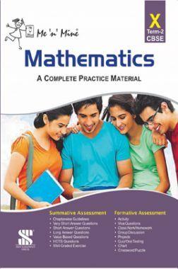 Me N Mine Mathematics Second Term For Class-X CBSE