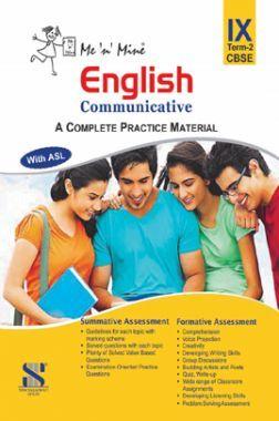 Me N Mine English Communicative Second Term For Class-IX CBSE