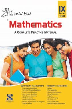 Me N Mine Mathematics Second Term For Class-IX CBSE