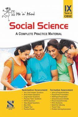 Me N Mine Social Science Second Term For Class-IX CBSE