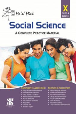 Me N Mine Social Science Second Term For Class-X CBSE